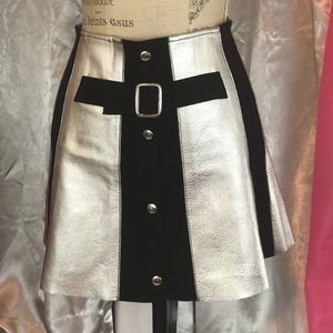 Dresses & Skirts - NWOT AfterParty Metallic Mini Skirt ✅
